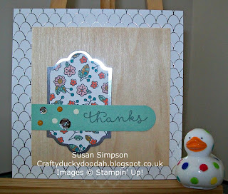 Stampin' Up! Susan Simpson Independent Stampin' Up! Demonstrator, Craftyduckydoodah!, Cottage Greetings Card Kit,