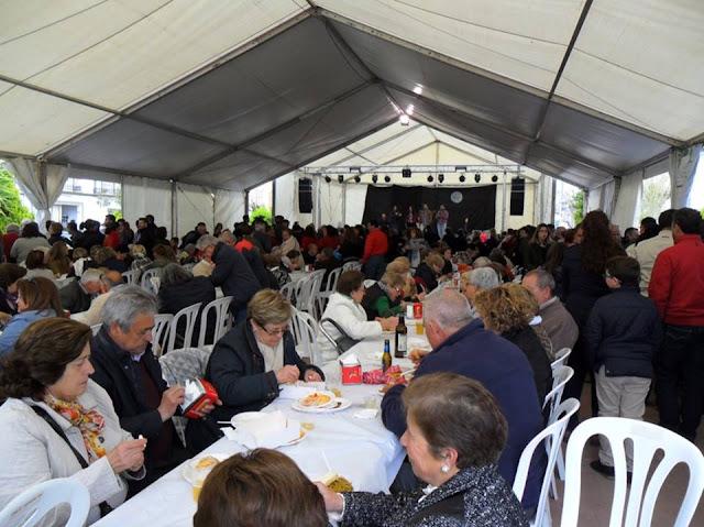 Paella y degustación de recetas con espárragos, Feria del Espárrago en Alcalá del Valle