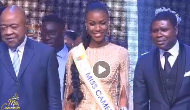 Audrey Nabila Monkam sacrée Miss Cameroun 2020