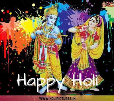 Radha Krishna Happy Holi 2022 images