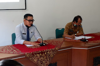 Kepala SMK TI bali Global Badung Audiensi Dengan Perbekel Desa Canggu, Kecamatan Kuta Utara, Kabupaten Badung