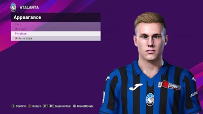PES 2020 Faces Lennart Czyborra by Sofyan Andri