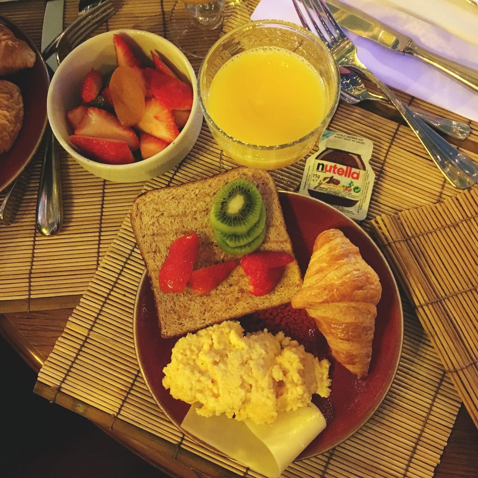 petit déjeuner nigloland