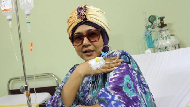 Ria Irawan Penuhi Janjinya Setelah Sembuh Dari Kanker