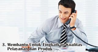 Membantu Untuk Tingkatkan Kualitas Pelayanan dan Produk merupakan salah satu manfaat dibalik adanya keluhan pelanggan