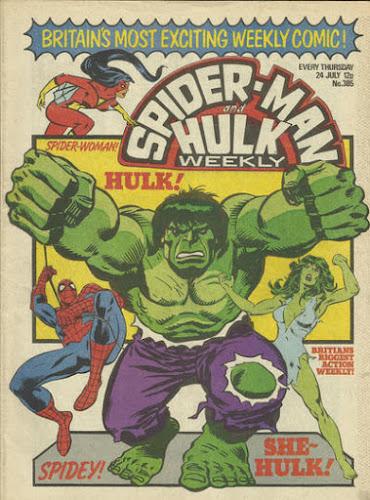 Spider-Man and Hulk Weekly #385