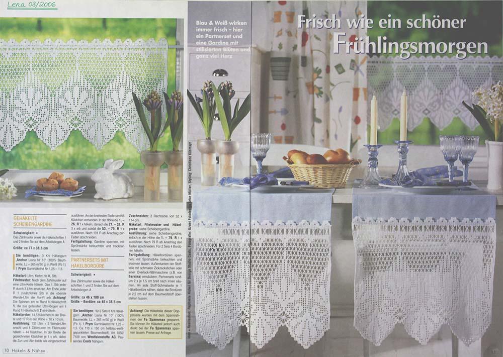 Gardinen Häkeln Muster H Keln Vorhang Muster Home Image Ideen 19 K