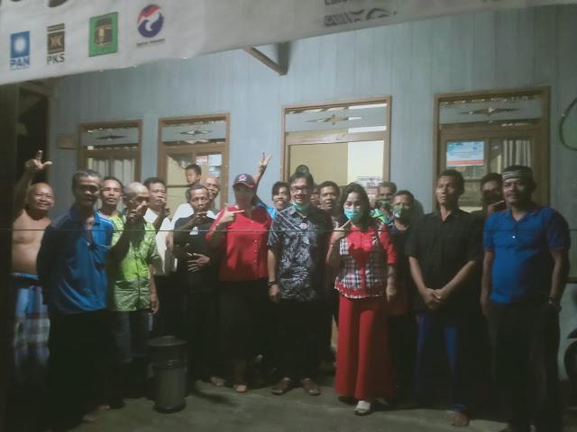 PDI - Perjuangan Barsel Seruduk Desa di Kecamatan GBA, Menangkan Sugianto - Edy