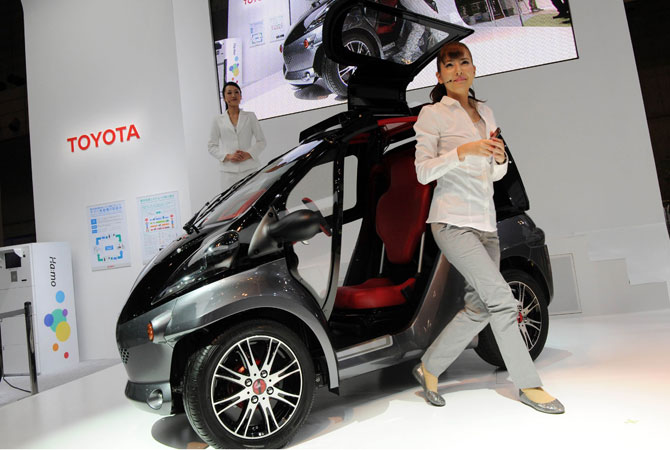 Toyota Smart Insect Ev Concept Live Photos Garage Car