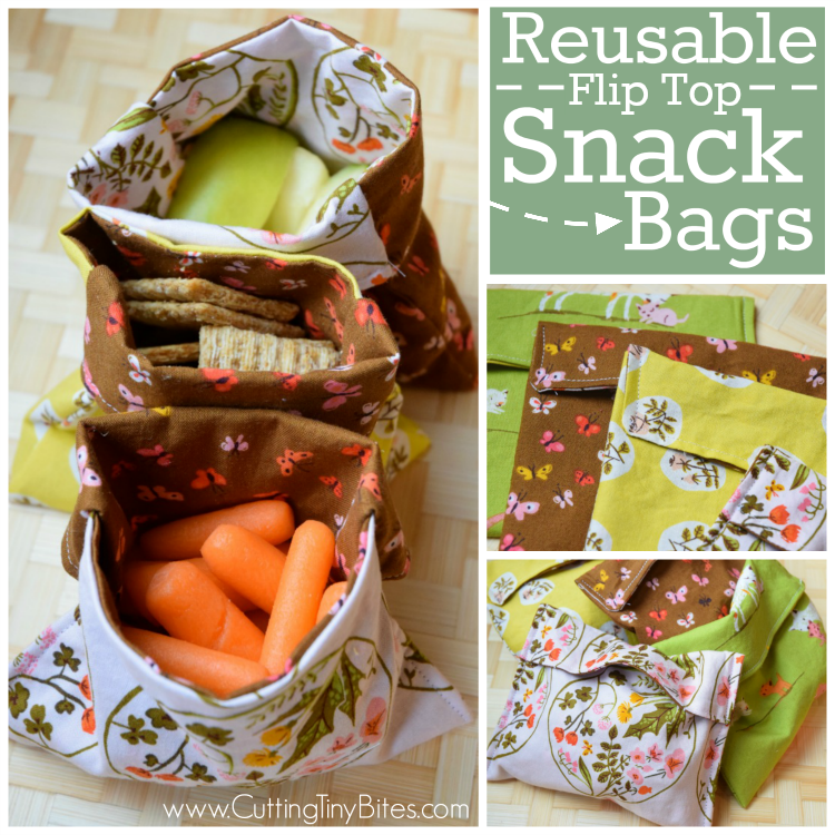Reusable Snack Bag Tutorial What Can We Do With Paper And Glue