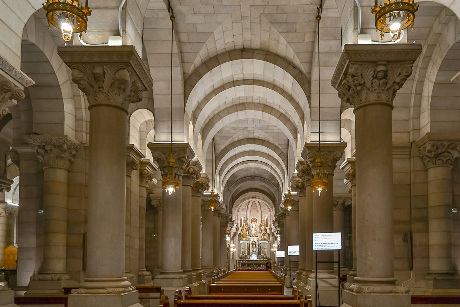 Almudena Cathedral Crypt