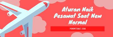 10 Aturan Naik Pesawat Saat New Normal, Sudah Tahu?