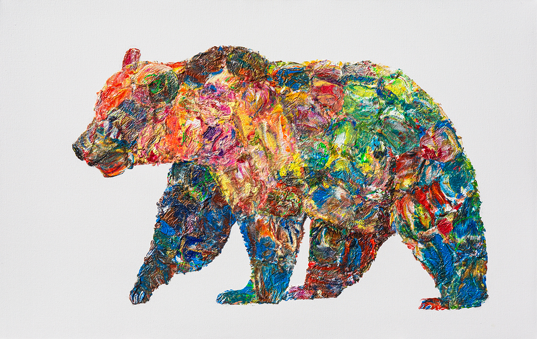 bear painting, polar bear dot , polar bear oil, bear mixed media, Grizzly Bear painting, bear 3d painting, bear oil, bear dot painting, abstract bear art,bear textured, bear wall art, bear pop art, acrylic bear,