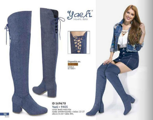 botas yaeli fashion