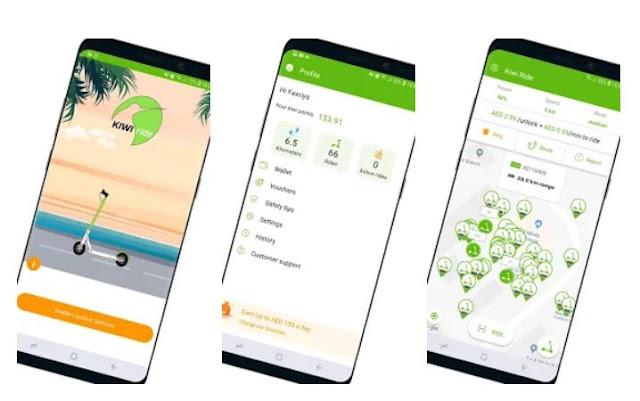 Download & Install Kiwi Ride Mobile App