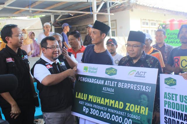 Minimarket Sodaqo Senilai 300 juta untuk Masa Depan Zohri