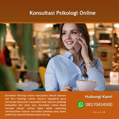 Konsultasi Psikologi Online