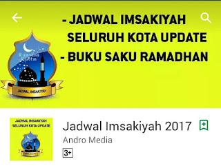 Aplikasi Jadwal Imsakiyah 2017 untuk Android