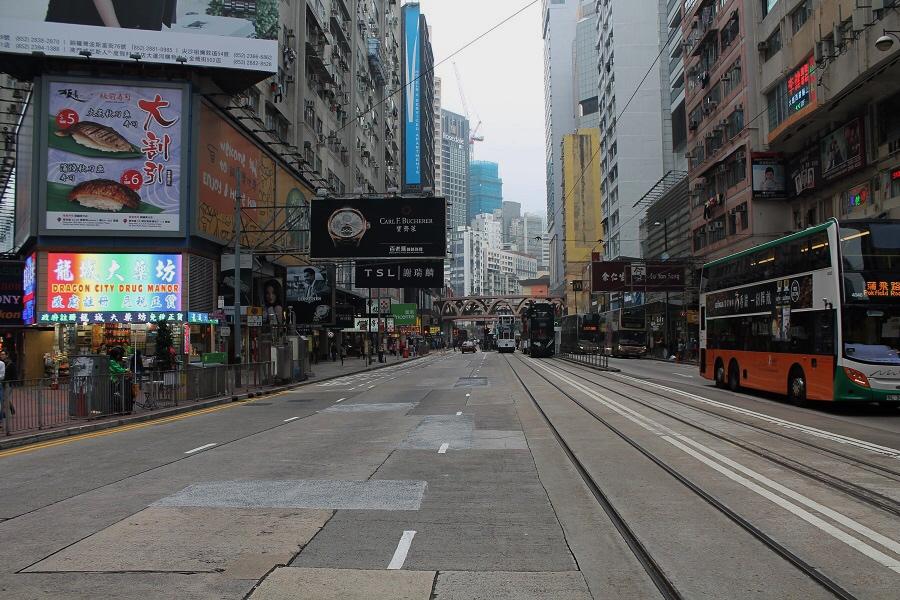 itinerario hong kong island