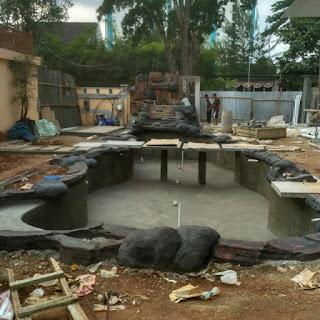 jasa pembuatan kolam hias ikan koi harga murah