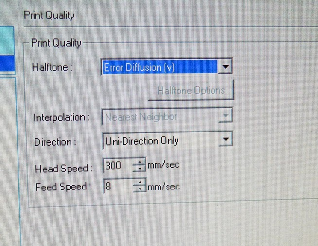 Changing Printer Settings in Roland Versaworks | Hingst's