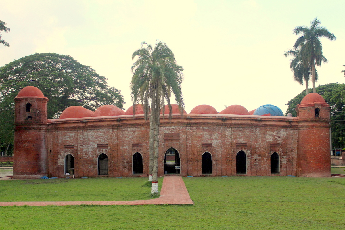 World Heritage Sixty Dome Mosque