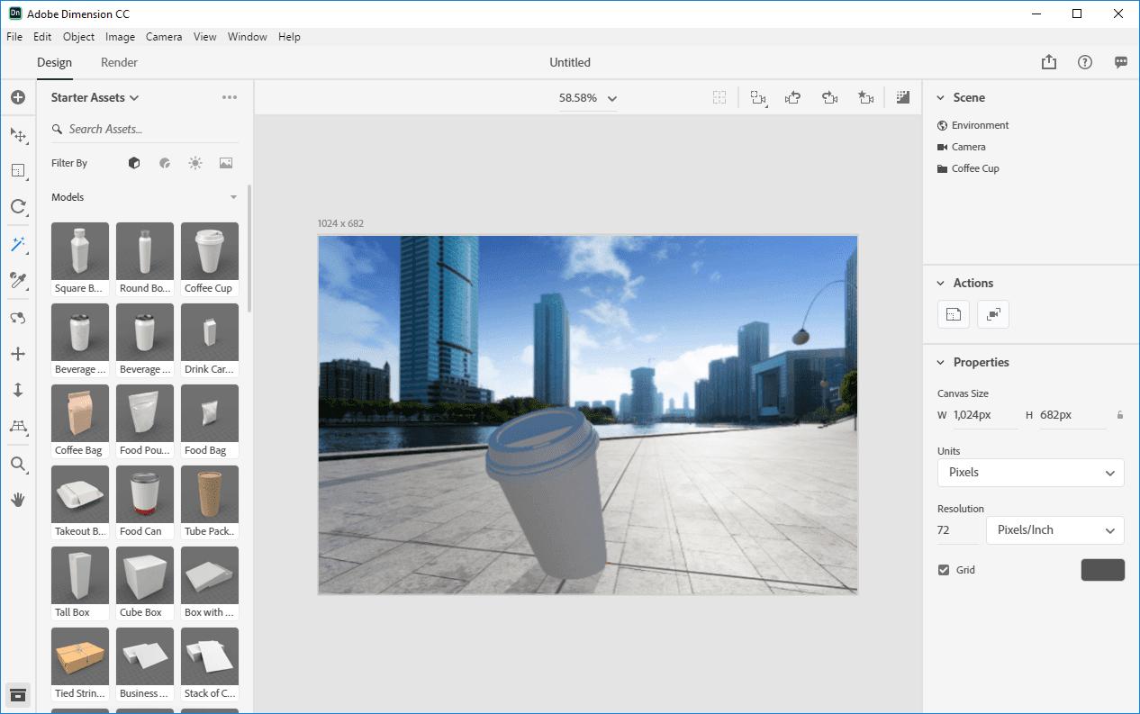 Adobe dimensions cc 2019 | Adobe Dimension CC Classroom in a
