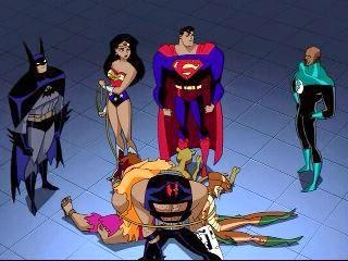 Liga da Justiça Sem Limites Salvando o Mundo