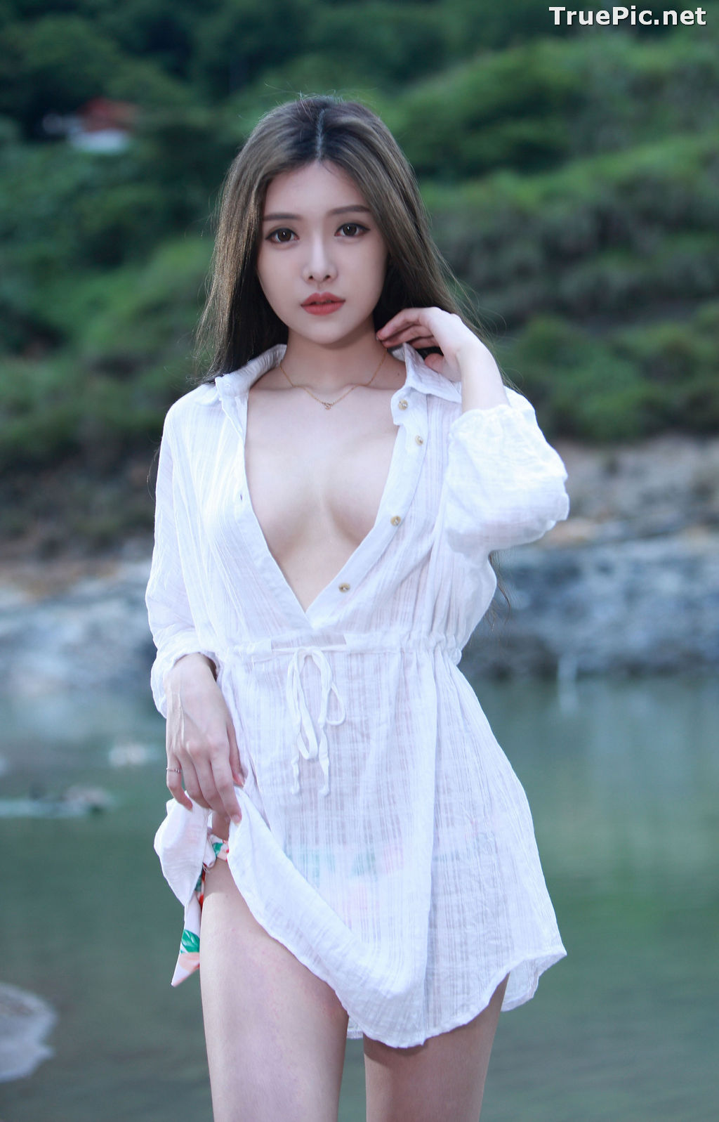 Image Taiwanese Model - 莊舒潔 - Sexy and Beautiful Big Eyes Girl- TruePic.net - Picture-6