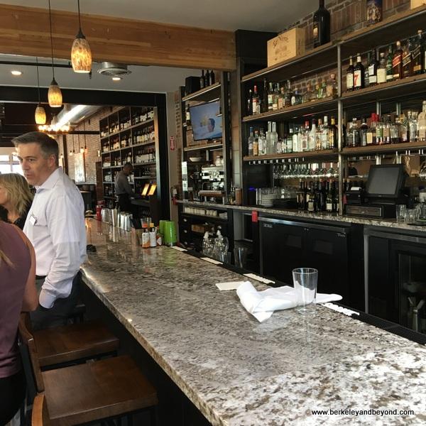 bar at Bella Siena restaurant in Benicia, California