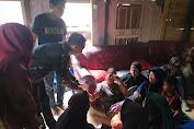 NU Bantaeng, Terjunkan Tanggap Bencana Banser Bantu Korban Kebakaran