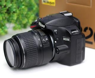 Jual Kamera Nikon D3200 Bekas di Malang