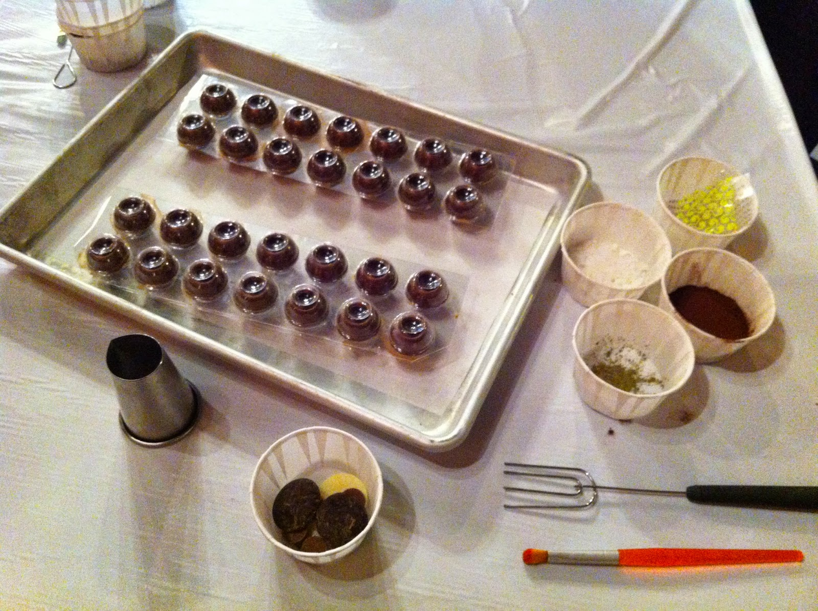Livin' Life With Style : Chocolate Tales Truffle Making