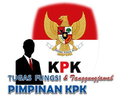 Tugas Dan Fungsi Pimpinan KPK serta Tanggungjawab