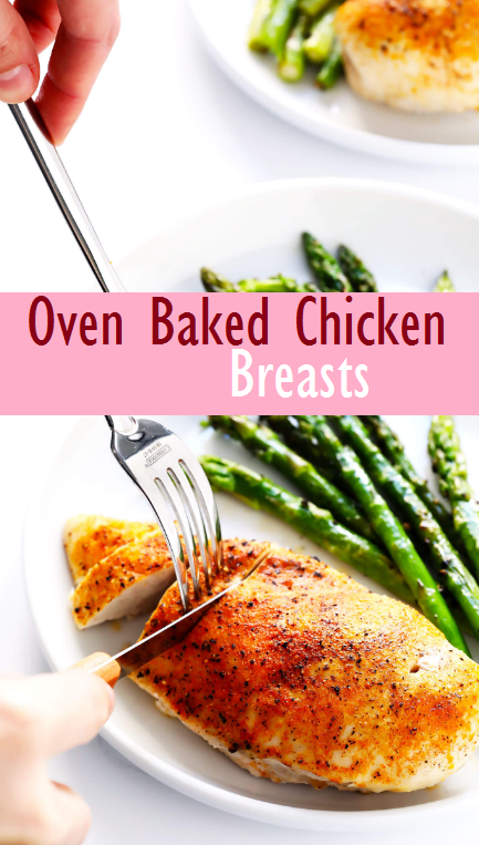 Oven Baked Chicken Breasts Recipe