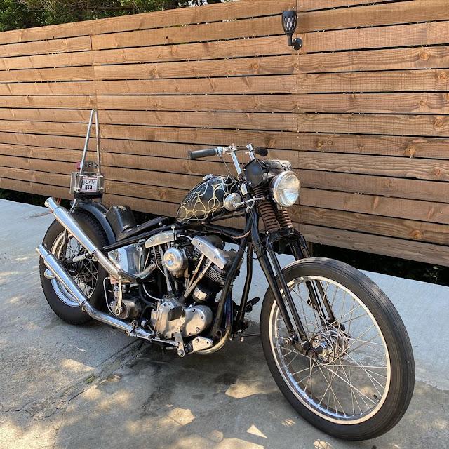 Harley Davidson Shovelhead By Hesh Life Hell Kustom