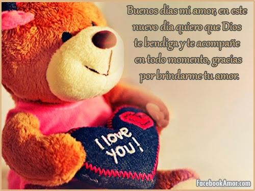 deseos buenos dias amor mensajes