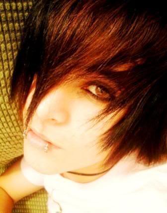 Emo Hair Emo Hairstyles Emo Haircuts Emo Lip Piercing
