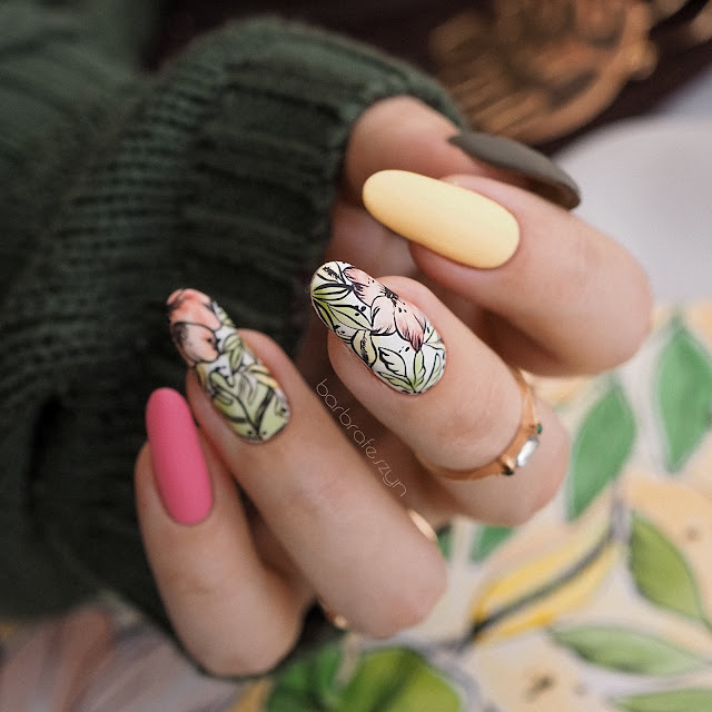 farbki akwarelowe do paznokci