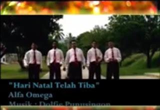 Download Lagu Natal Alfa dan Omega 2017 Hari Natal Telah Tiba