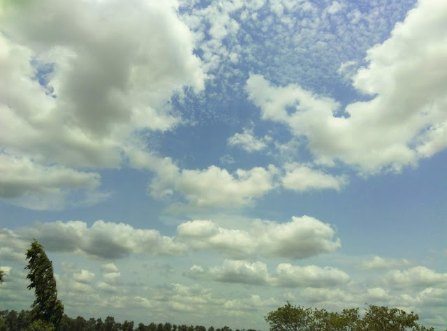 Floating Clouds | Beautiful Clouds Photography| Stepping White Clouds | From'S Photography