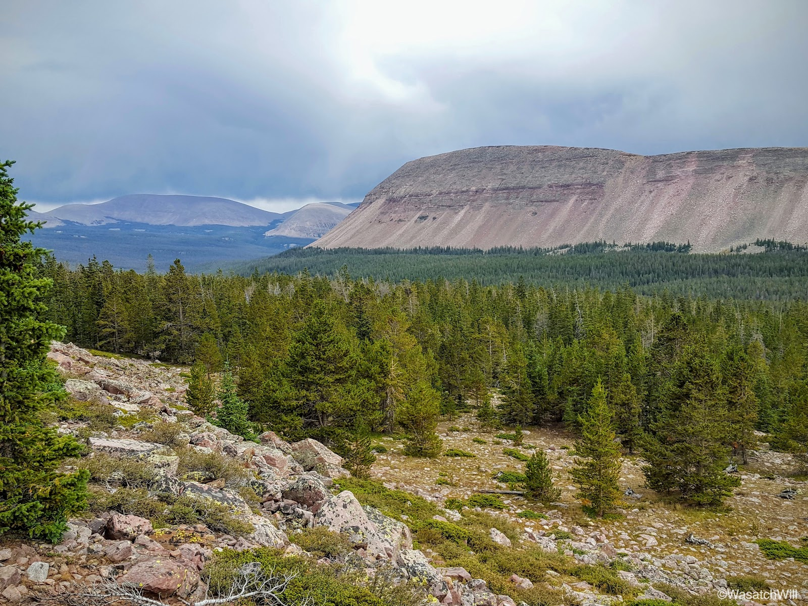 WasatchWill: Uinta Highline Trail - Day 2
