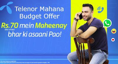 Telenor Mahana Budget Offer