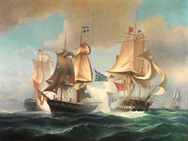 5 Ιουλιου 1821: Σαμιώτες και Κρητικοί τσακίζουν τους Οθωμανούς