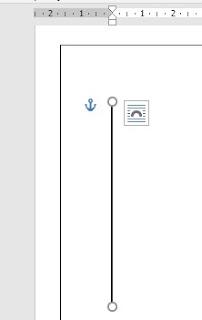 Cara Membuat Garis Vertical di Word