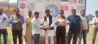 के डी सिंह स्टेडियम में चौधरी आसिफ अली स्टेट अंडर क्रिकेट टूर्नामेंट का आयोजन