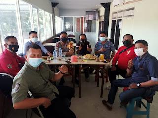 Jalin Sinergitas, Kapolres Gowa Bersama  Awak Media Ngopi Bareng