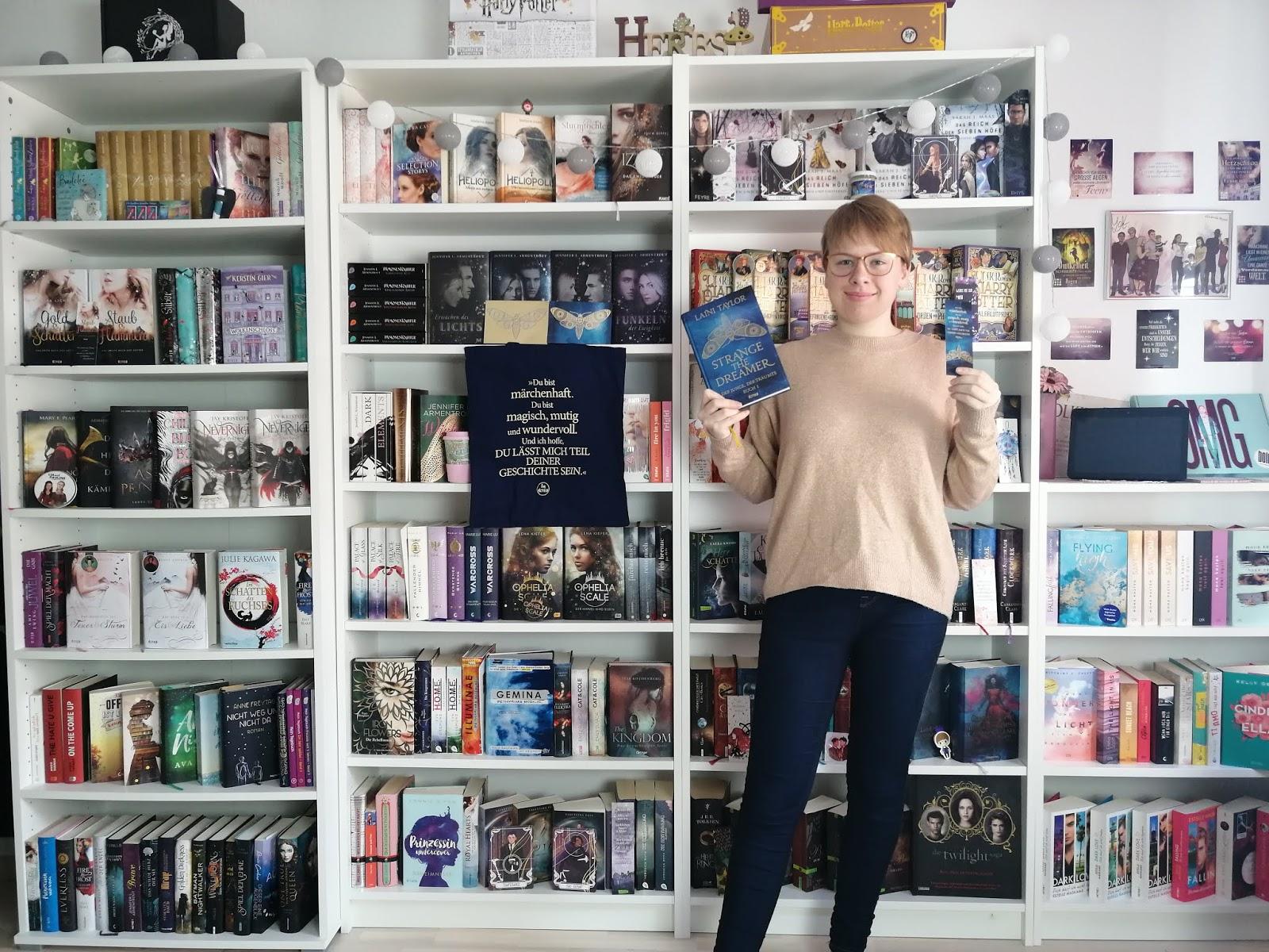 {Rezension} Strange the Dreamer - Der Junge, der träumte: Buch 1 | Laini Taylor | Werbung