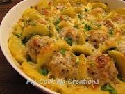Запеканка от кюфтета с картофи и бешамел * Torta di polpette
