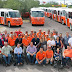 Inicia Gobernadora nuevo modelo de transporte público incluyente con 32 unidades adaptadas